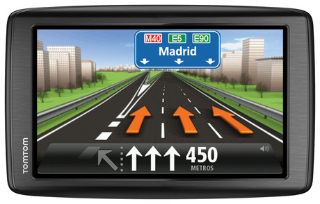 Imagen del GPS TomTom