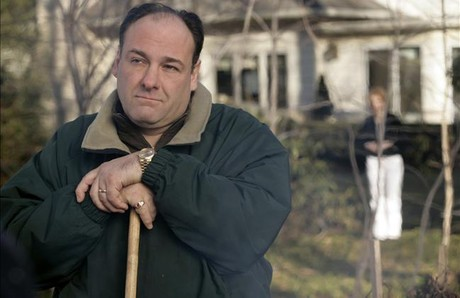 James Gandolfini, en la serie de la HBO 'Los Soprano'.