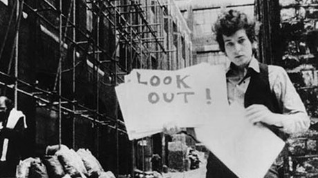 Una imagen del documental 'Dont Look Back', sobre Bob Dylan.