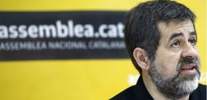 El president de lAssemblea Nacional Catalana, Jordi Sànchez, aquest dissabte.