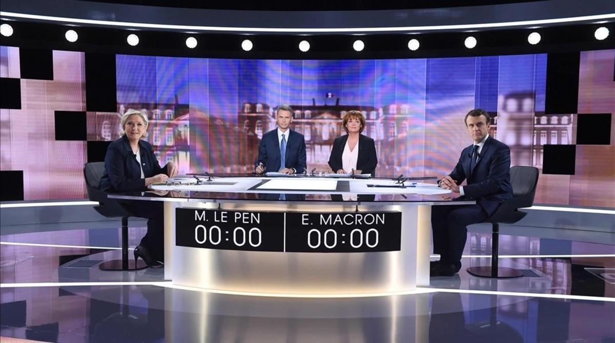 lpedragosa38286379 debate francia macron le pen170503210918