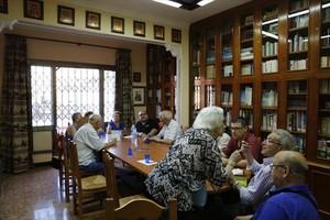 Sede social 8Socios de la Casa de Cuenca, en su sala de juntas.