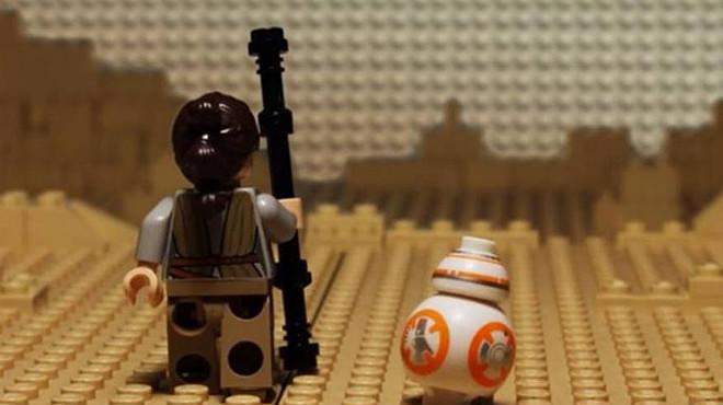 Las mejores escenas del cine en2015, recreadas con Lego