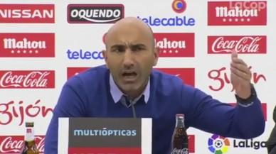 La bronca entre Abelardo i un periodista del diari 'Marca'