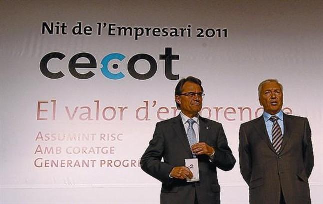 Antoni Abad renueva su mandato al frente de la patronal Cecot