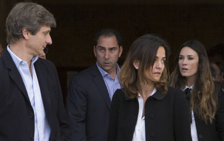 Arantxa Sánchez Vicario, ausente en el funeral de su padre