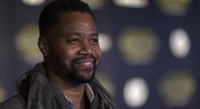 """Actor Cuba Gooding Jr. arrives at the world premiere of the film """"Star Wars: The Force Awakens"""" in Hollywood"""