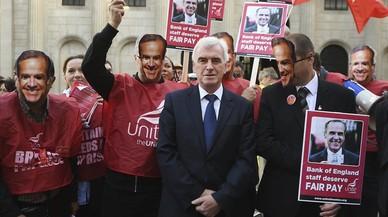 Primera vaga al Banc d'Anglaterra en 50 anys