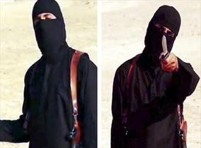Fotograma de 'John el gihadista' capturat d'un vídeo on amenaçava amb més execucions.
