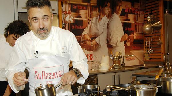 Hacienda precinta el restaurante de sergi arola en madrid - Restaurante sergi arola madrid ...