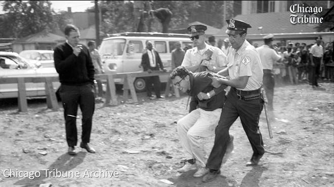 Bernie Sanders, l'activista arrestat