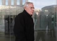 Jordi Montull, a su llegada este jueves al juicio por el 'caso Palau'.