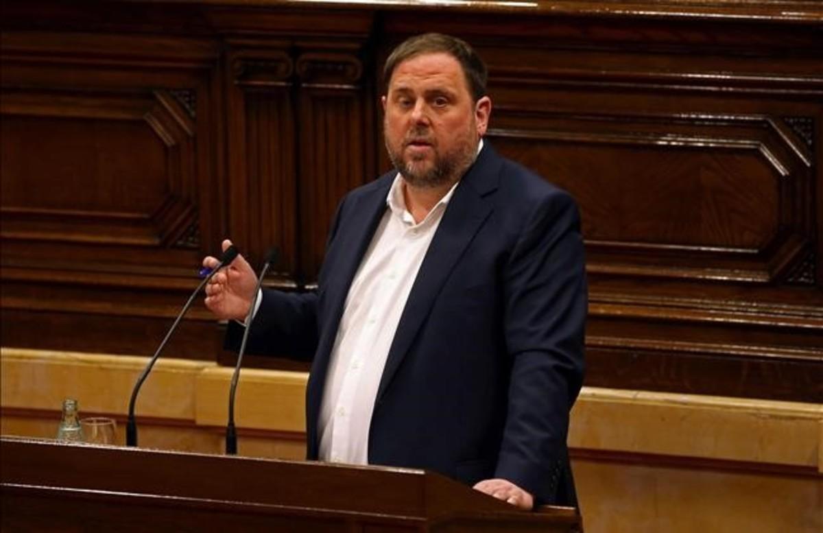 Junqueras admite contactos con Santamaría y prevé una reunión en enero