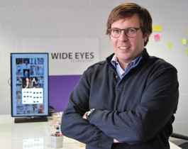 Luis Manen, CEO y Cofundador de Wide Eyes Technologies.