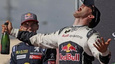 Mattias Ekstrom, nuevo l�der del Mundial de Rallycross.
