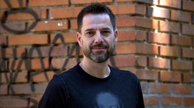 Oskar Santos, director de 'Zipi y Zape y la isla del Capit�n', la semana pasada en Madrid.