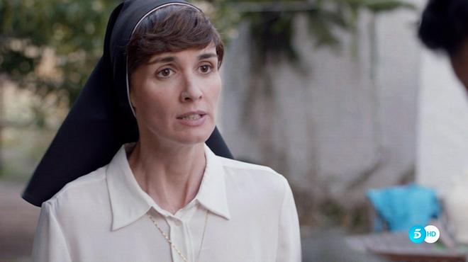 Paz Vega interpreta a Sor Lucía en 'Perdóname, Señor' (Tele 5).