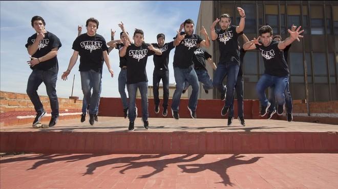 El grupo de breakdance Street Squad.