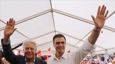 Felipe González reclama a Sánchez que no formi govern amb Podem