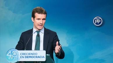 """El PP espera que se premie su """"coraje"""" al aprobar el 155"""