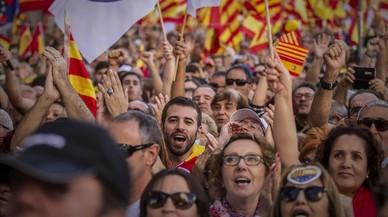 Les millors imatges de la marxa a Barcelona contra la DUI