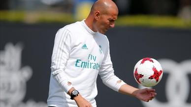 """Zidane: """"Cristiano va a estar con nosotros el día 5"""""""