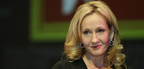 J. K. Rowling, en la presentaci�n de su novela 'The casual vacancy' en Londres