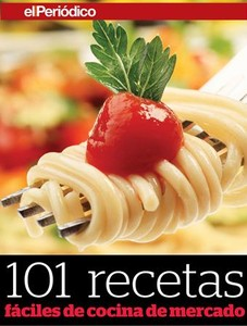 Portada del libro '101 recetas fciles de cocina de mercado'.