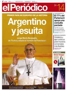 EL PERIÓDICO,14-03-2013.