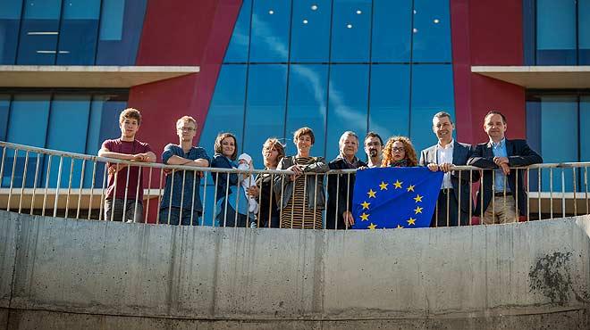 Diez ciudadanos europeos residentes en Barcelona hablan de su visión de Europa.