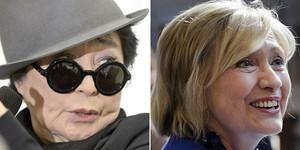 Yoko Ono y Hillary Clinton, protagonistas sin saberlo de la comidilla en la red.