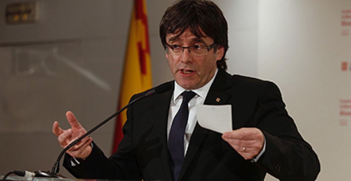 "Puigdemont: ""No estem en un escenari de pujada de l'IRPF"""