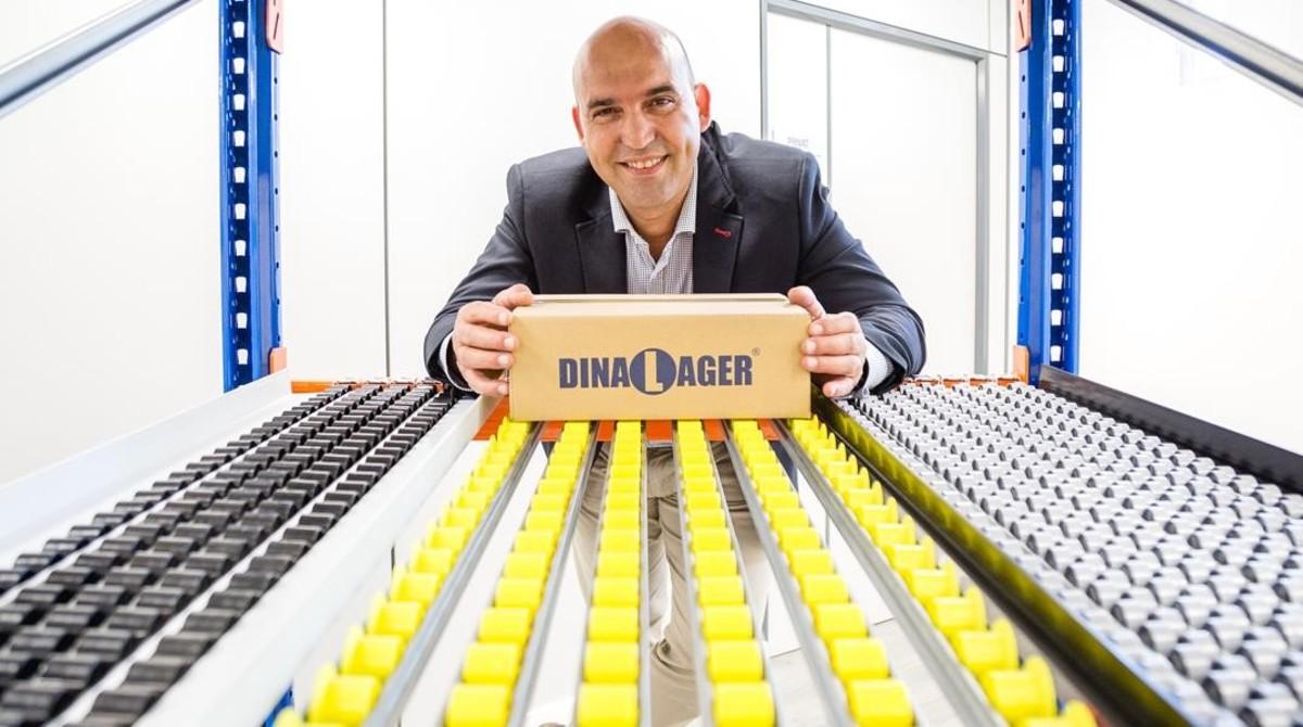 Carles Merino gerente de la empresa Dinalage