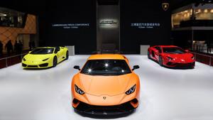 Lamborghini en el Salón del Automóvil de Shanghái
