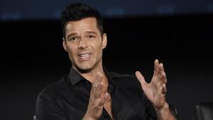 Ricky Martin, en la presentación de la segunda temporada de la serie American Crime Story, centrada en el asesinato de Gianni Versace