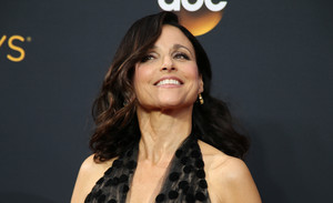 FILE PHOTO: Actress Julia Louis-Dreyfus arrives at the 68th Primetime Emmy Awards in Los Angeles, California