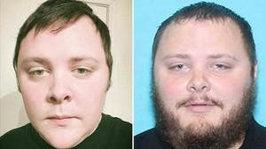 Dos imágenes de Devin Kelley, autor de la muerte de 26 personas en una iglesia de Texas.