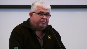 El vicepresidente de la ANC, Agustí Alcoberro.