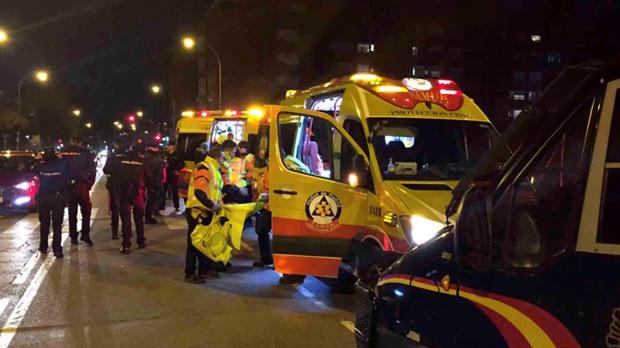 Un jove de 22 anys membre dels ultres de lAtlètic va ser apunyalat ahir als voltants del Metropolitano
