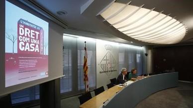 Colau reclama que no hi hagi més antiavalots en desnonaments però suavitza el to amb la Generalitat