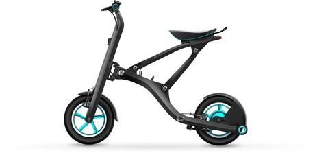 La bicicleta plegable el�ctrica Yunbike X1.