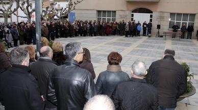 Concentración en silencio este mediodía en Soses por los dos agentes rurales asesinados.
