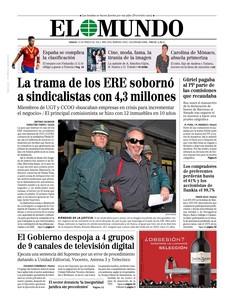 La ruina de las preferentes y Bankia, G�rtel y B�rcenas, los ERE y las v�ctimas de ETA, en portada