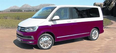 'GENERATION SIX'. El modelo que probamos no est� a la venta en Espa�a, aunque la marca s� ofrece el mismo Multivan 2.0 TDi con un equipamiento similar, el 'premium', incluyendo el bicolor.