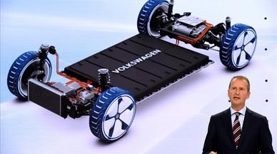 Herbert Diess habla de la electrificación de Volkswagen.