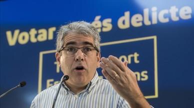 """Homs clama que l'Estat espanyol """"ha perdut i s'ha perdut"""" a l'emprendre la via penal contra el procés"""