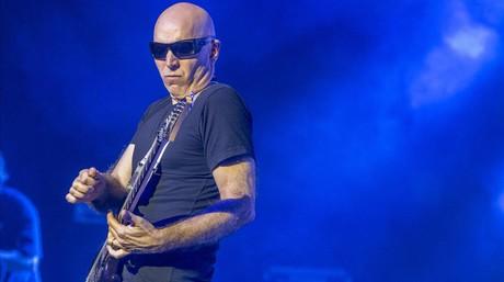 Joe Satriani, en el concierto de lsa sala Barts.