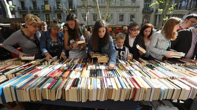 Barcelona utilizará el distintivo de ciudad literaria para internacionalizar la 'diada' de Sant Jordi