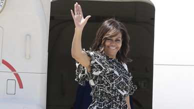 Michelle Obama, de vacances a Mallorca