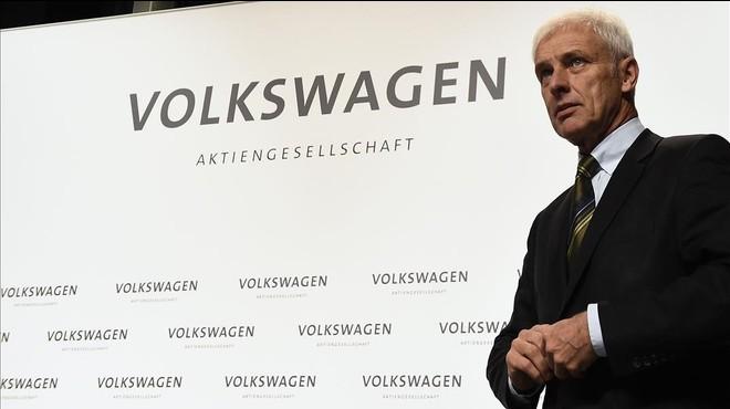 Matthias M�ller, presidentedel grupo Volkswagen.